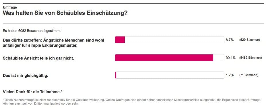 Senioren halten Schäuble für grenzdebilen Vollhonk Bildschirmfoto 2015-03-09 um 14.50.56 Wolfgang Schauble PEGIDA Seniorenphaenomen