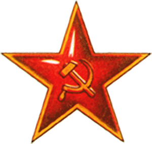 Russische Armee am 9. Mai in Berlin Red_Army_badge rote armee sterm russland krieg sowjet armee