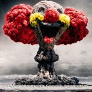 Warum Deutschland nukleares Erstschlagziel bleiben muss Atombombe atompilz clown lustige zerstoerung vernichtung wahnsinn deutsche atombombe israel atombombenbauer
