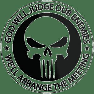 Gotteskrieger das neue Logo von academi vatikan toeten morden fuer Gott