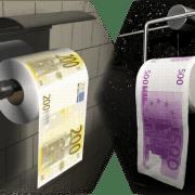 Neue EU-Norm für Klopapier Abrollrichtung