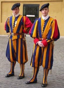 Blackwater löst Schweizergarde des Vatikan ab