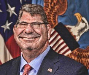 Irakische Soldaten feige und zu wenig US-hörig Ash_Ashton_Carter_DOD_Secretary_Kriegsminister_USA_imperialismus_Bedrohung_Gewalt