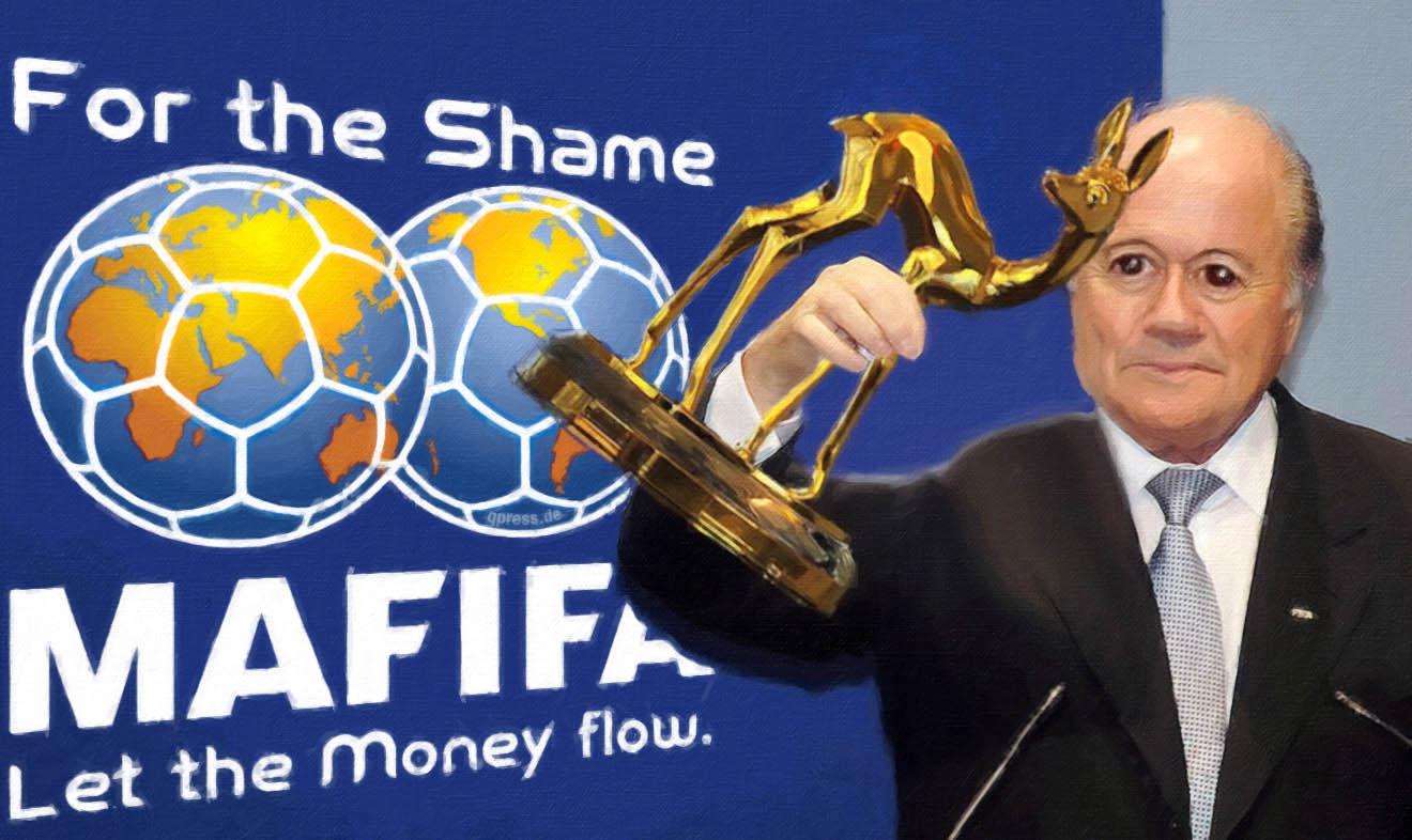 Blatter Joseph Sepp Bambi Korruotion FIFA MAFIFA Schiebung Bestechung Verdacht instinktlos machtgeilheit