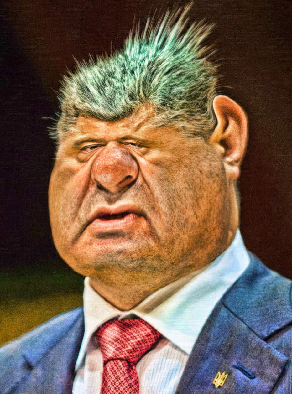 Petro Porochenko schokoladenzar ukraine praesident kriegsrecht russenhass kriegstreiber despot