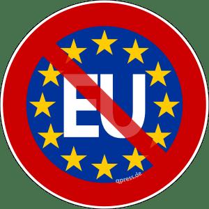 Anti-EU-Seuche erfordert Grenzschließung zu Österreich EU-Austritt Anti Gegner volksbegehren volksabstimmung oesterreich deutschland griechenland 150dpi qpress