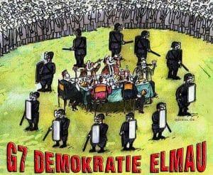 G7 - exquisite Luxustour auf Steuerzahlerkosten G7 Demokratie 2015 Schloss Elmau bayern Gipfel Politik teffen verschwendung von Steuermitteln kosten Protz