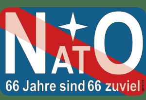 NATO 60 Jahre sind zuviel Angriffsbuendnis Nord Atlantische Terror Organisation Militaer Propaganda hetze false flag