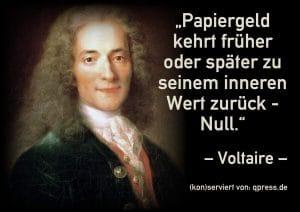 Voltaire • Um herauszufinden wer über dich herrscht