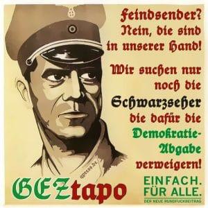 GEZ-Propagandaabgabe demnächst auch auf Obst und Gemüse geztapo_und_die_schwarzseher_rundfunkbeitrag_2013