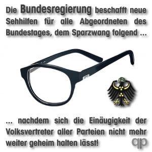 Bundestag-beschafft-neue-Sehhilfen-fuer-Abgeordnete-und-Politiker-Brille-Durchblick-einaeugigkeit-monokular-partielle-blindheit