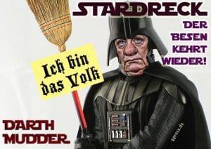 Reichstag beschließt Annexion Griechenlands Darth mudder angela merkel der Besen kehrt wieder ich bin das volk mutter der Nation qpress