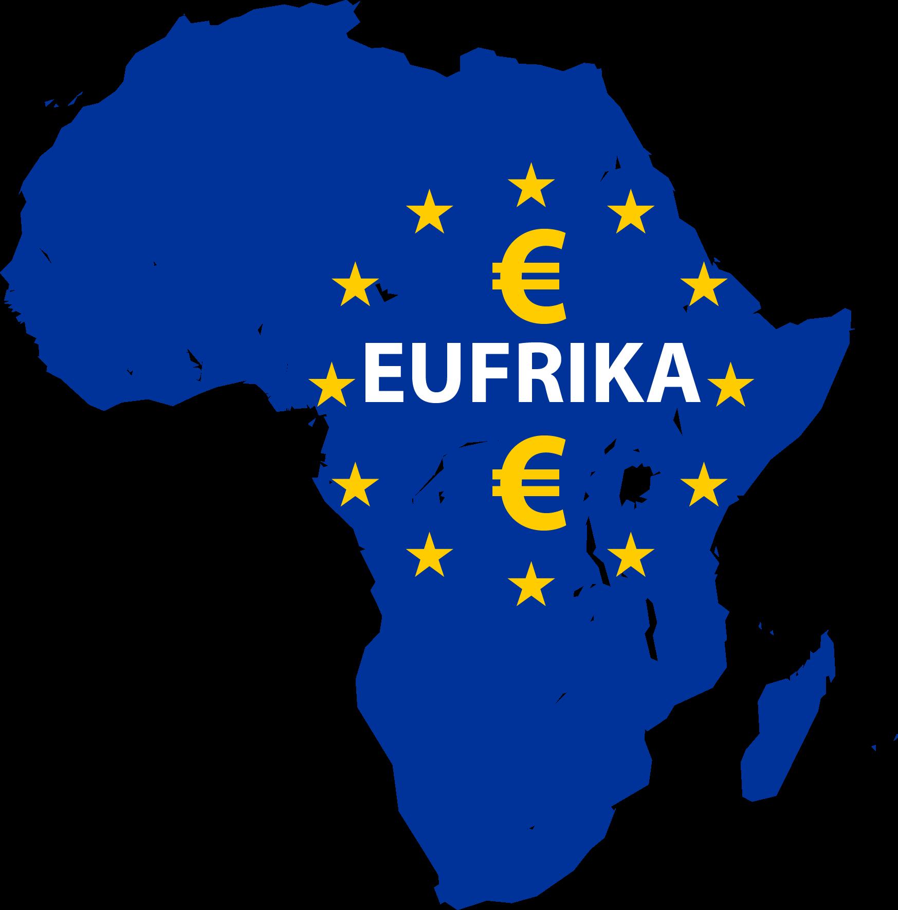 EUFRIKA_Cartography_of_Africa_Afrika_Europa_EU_Kontinent_silouette_Landkarte_Symbol
