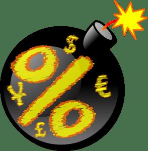 zinsbombe zinseszins explosive staatsschulden euro dollar yen pfund crash zusammenbruch verzinsung derivate finanzmarkt katsstrophe banken herrschaft qpress