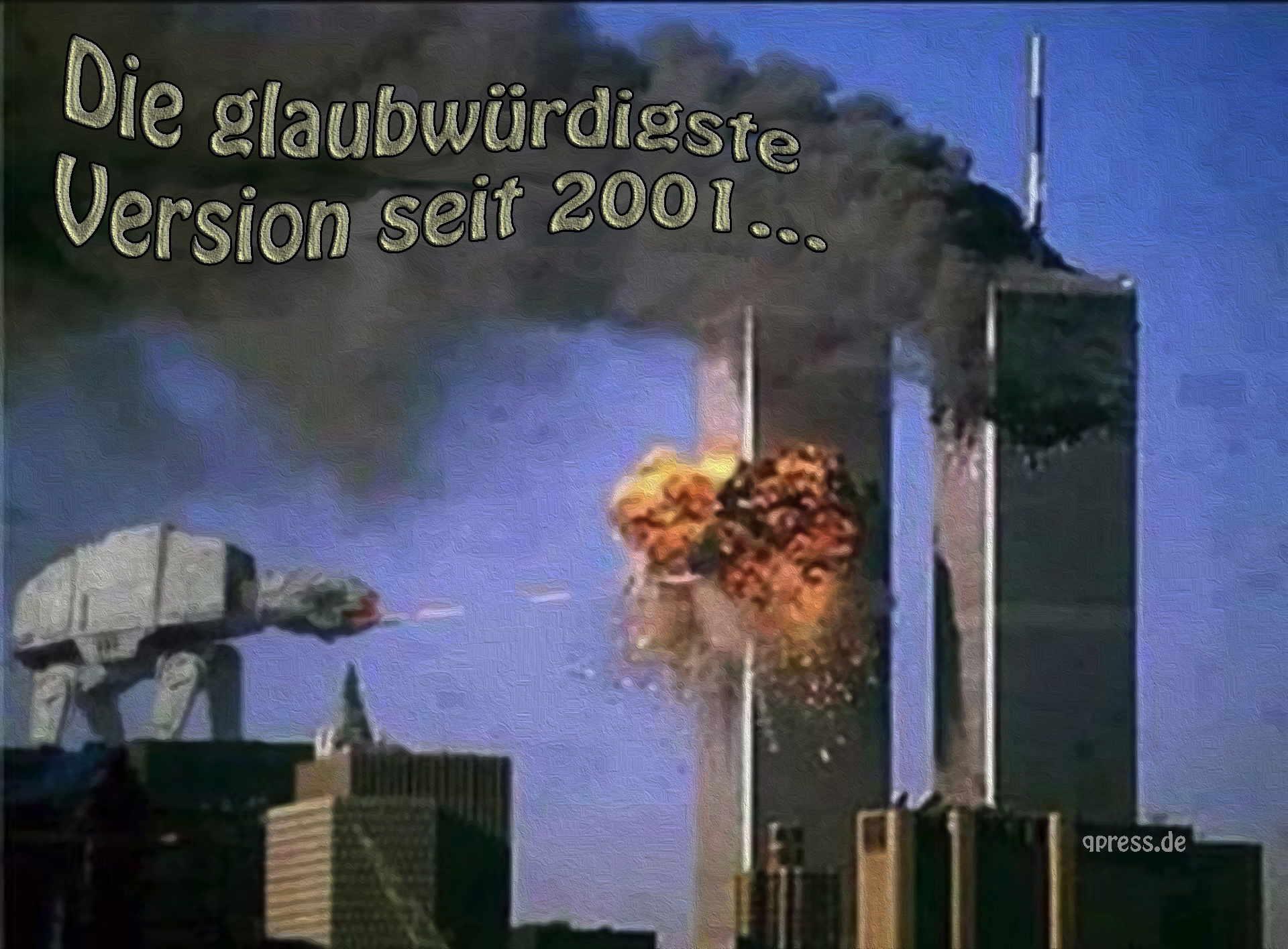 2001 die glaubwuerdigste Version seit 911 starwars Angriff der Aliens