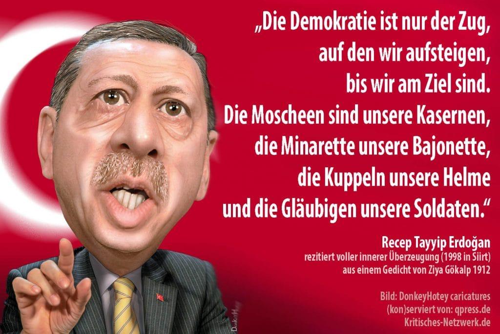 Erdoğan bietet EU Tauschprogramm: Syrer gegen Türken Recep_Tayyip_Erdogan_Turkey_Tuerkei_prime_minister_Menschenrechte_Frauenrechte_Adalet_ve_Kalkınma_Partisi_AKP_Todesstrafe_Kurden_Bozkurt_PKK_NATO_by_DonkeyHotey_caricatures_qp
