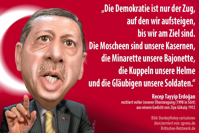Recep_Tayyip_Erdogan_Turkey_Tuerkei_prime_minister_Menschenrechte_Frauenrechte_Adalet_ve_Kalkınma_Partisi_AKP_Todesstrafe_Kurden_Bozkurt_PKK_NATO_by_DonkeyHotey_caricatures_qp