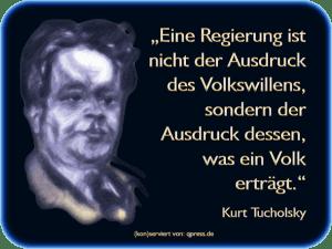 """Ossis """"Fremdenfeindlichkeit"""" endgültig dechiffriert Tucholsky, Kurt Regierung Wille des Volkes ertragen qpress"""