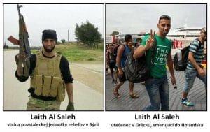 die IS kaempfer aus Syrien brauchen dringend Erholung und Asyl auf dem Weg der Besserung