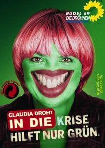 Grüne ohne Konzept für nicht verwertbare Menschen gruene-claudia-roth
