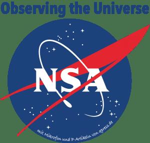 nasa_logo_nsa_listen_to_the_universe_werbung auf dem Mond totale ueberwachung