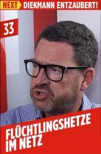 HETZ am Sonntag, die Kai Diekmann Shitstorm-Brille BLOED HETZ BILD Fluechtlingshetze im Netz kai diekmann hetzblatt
