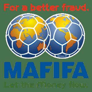 Deutschland wird Fußball-Weltmeister 2006 MA FIFA Logo for a better fraud let the money flow trans qpress