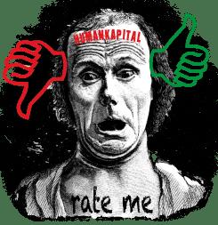 Rating Agenturen Humankapital Ausbildung Schule Menschenmaterial Verwertung neues Geschaeftsfeld Darwin Ausdruck Rate mal der Mensch zwischen Leben und Regierung Herrschaft qpress