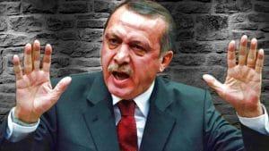 Erdoğan erdogan mit dem Ruecken zur wand entschuldigt sich bei NATO fuer Abschuss russischer militaermaschine