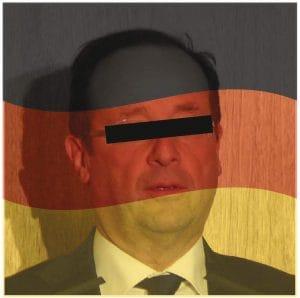 Frankreich flaggt um, große Solidaritäts-Aktion für Deutschland Druck
