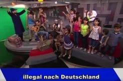 Illegal nach deutschland film arabische Satire zum Fluchtelend Syrien EU Europa Merkel