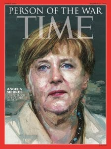 "Time kürt Rauten-Luder Merkel zur ""Person of the War 2016"" Time_cover_Angela_Merkel_person of the year the war"