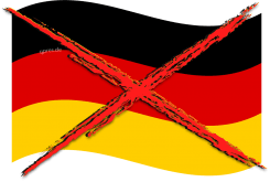 Nazionalflagge Nationalflagge deutschland Germany flag Nationalismus volksverschaukelung