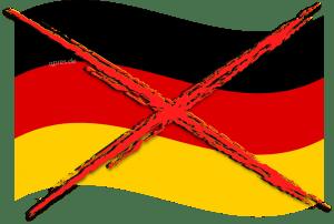 Deutschland für EU-Verbot von Nazionalflaggen Nazionalflagge Nationalflagge deutschland Germany flag Nationalismus volksverschaukelung