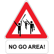 no-go-area europe
