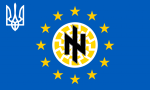 Ukraine EU Kriegsflagge Assoziierung 2016 volksabstimmung Niederlande antidemokratisch qpress