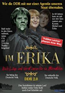Angela Merkel Kasner IM Erika DDR2 Europa gekapert Deutschland ruiniert Das Ende Der Film Epos Trilogie die ungeheuerliche Geschichte der Mutter Terroresia qpress