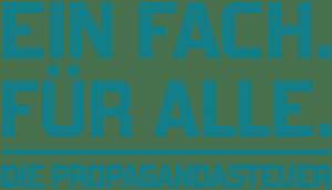 Aufgabe des öffentlich-rechtlichen Rundfunks Beitragsservice logo Einfach fuer Alle Die Propagandasteuer solo