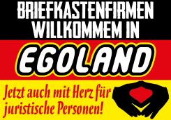 Briefkastenfirmen Scheinfirmen Herz fuer juristische Personen Deutschland Merkel Egoland Raute Panama Steuerflucht