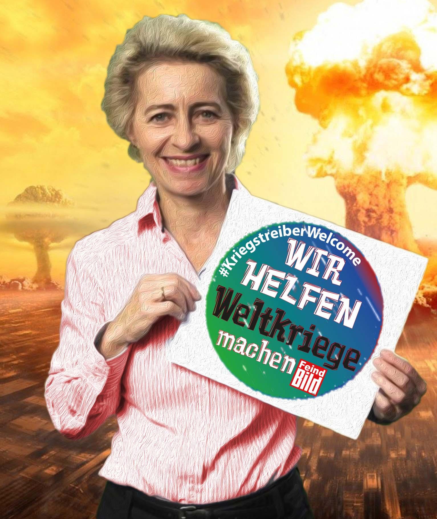 Bildergebnis für Ursula von der Leyen kriegsminister