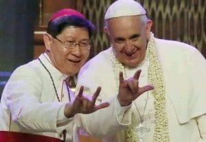 Franziskus uebt den Stansgruss kult Vatikan Papst ruecktritt verirrung
