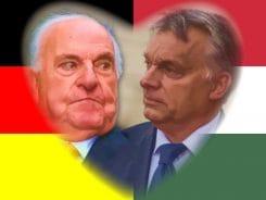 Viktor Orban Helmut Kohl alte Maennerseilschaft Freundschaft Poltik CDU Angela Merkel Opposition Deutschland Ungarn
