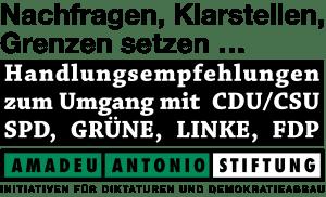 GEW will Lehrer zu Hetz-Pädagogen umformen Amadeo Antonio Stiftung-logo-vektorgrafik