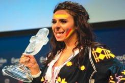 ESC 2016 Siegerin Jammerle zu Ostpreussen propaganda und politik als Kunst