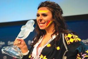 trauriges Lied ESC 2016 Siegerin Jammerle zu Ostpreussen propaganda und politik als Kunst