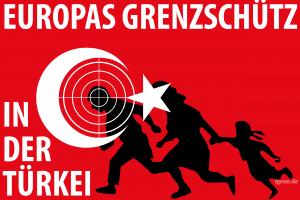 Deutsche Selbstschussanlagen für türkisch-syrische Grenze europas grenzschutz beginnt in der tuerkei Flag_of_Turkey qpress