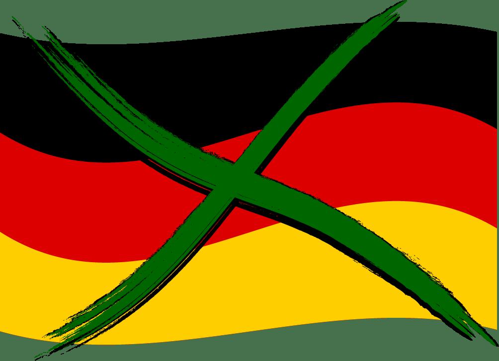 Endgültiges Verbot der Deutschland-Flagge