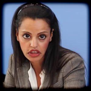 Chebli Sawsan Bundespressekonferenz Regierungssprecher Darsteller Award nichts sagen mit viel Worten
