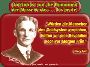 Ford Henry Geldsystem begreifen und Revolution vor morgen frueh qpress