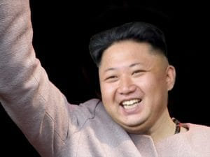 Merkel-Fan Kim Jong-un-Merkel-Angela-Despot-Diktator-Fuehrer-in